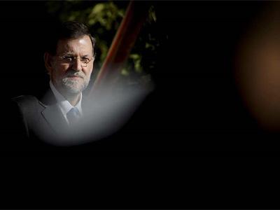 Rajoy, a finales de diciembre. AFP