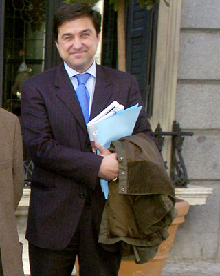 El consejero Miguel Ángel Sacaluga.-