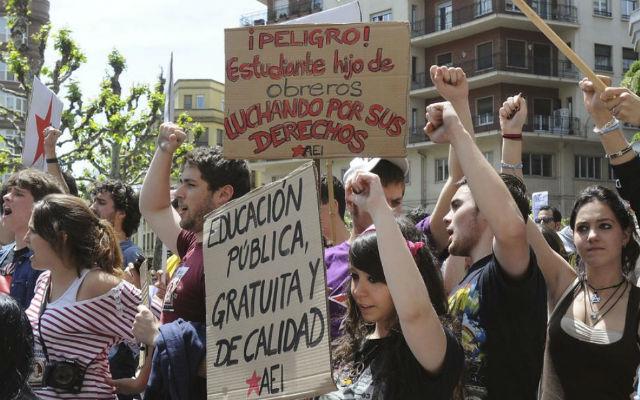 Manifestacion de estudiantes