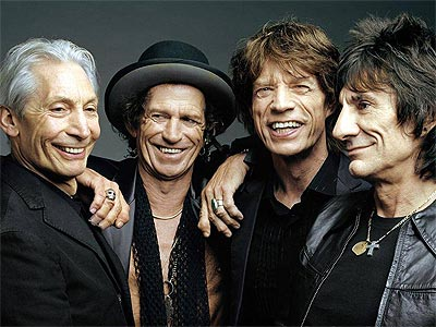 Charlie Watts, Keith Richards, Mick Jagger y Ronnie Wood son The Rolling Stones.