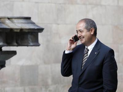 El conseller Puig, en el Palau de la Generalitat, hace unos días/EFE