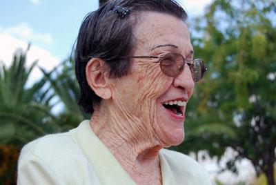 La militante socialista Ángeles García. FOTO: JAVI LARRAURI