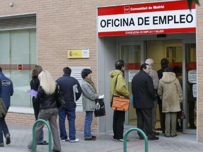 Foto de archivo de una oficina de empleo de la Comunidad de Madrid.