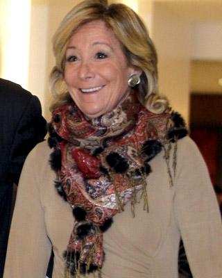 La expresidenta de la Comunidad de Madrid, Esperanza Aguirre. EFE/Fernando Alvarado