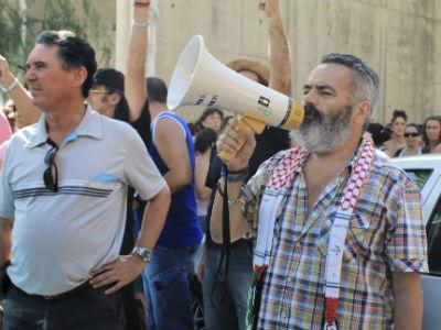 Sánchez Gordillo, en una protesta el pasado verano/EFE