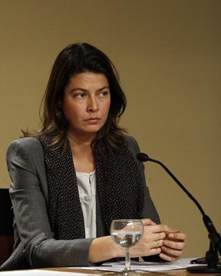 La consejera de Educación de Madrid, Lucía Figar, en una imagen de archivo.