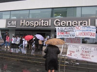 La Afem estima que el seguimiento de la huelga indefinida de médicos se mantiene sobre el 85% de la plantilla - EP