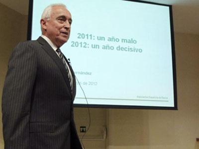 Miguel Martín, presidente de la patronal bancaria AEB