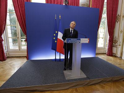 El primer ministro francés, Jean-Marc Ayrault.