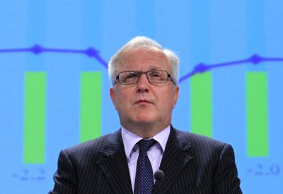El comisario eurpeo de Asuntos Económicos, Olli Rehn