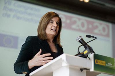 La ministra de Empleo y Seguridad Social, Fátima Báñez. - EFE