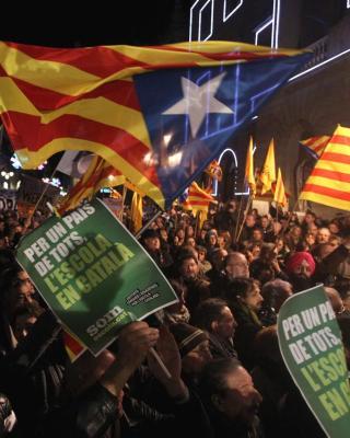 Manifestación en Barcelona contra la reforma Wert/EFE