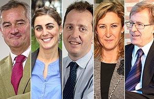 Los cinco aspirantes a decano del Colegio de Abogados de Madrid rechazan las tasas.