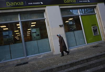 El frob cifra el agujero de bfa bankia en millones for Oficinas de bankia en madrid