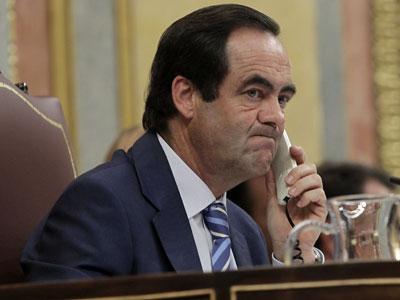 José Bono, cuando presidía el Congreso/MARTA JARA