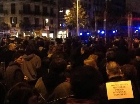 Concentración en Barcelona. MD