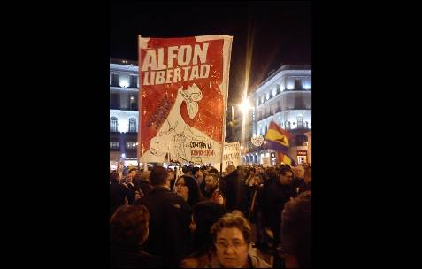 Concentración en Madrid. AB