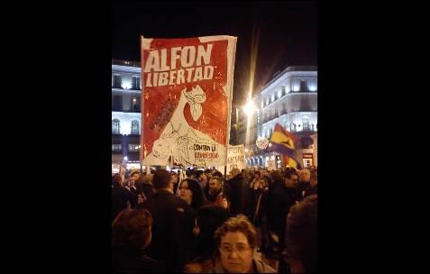 Concentración en Madrid. AB