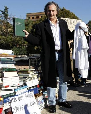 El actor Jose Coronado se ha sumado a la protesta. EFE