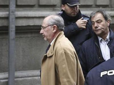 Rodrigo Rato, llega a la Audiencia Nacional para declarar como imputado el pasado 20 de diciembre/EFE