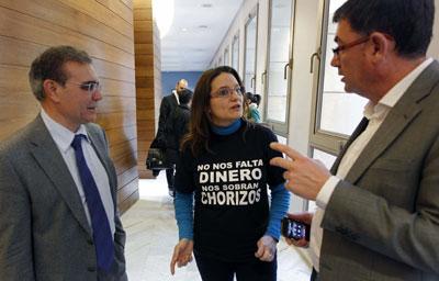 La portavoz adjunta de Compromís, Mónica Oltra.- EFE