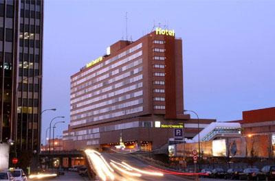 Fachada del hotel Husa Chamartín.