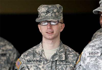 El soldado Manning en una fotografía de archivo. -