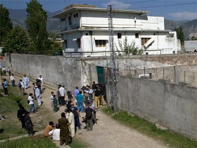El complejo donde murió Bin Laden - AP