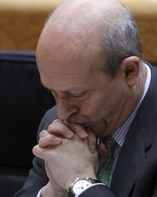 José Ignacio Wert, ministro de Educación, Cultura y Deportes.