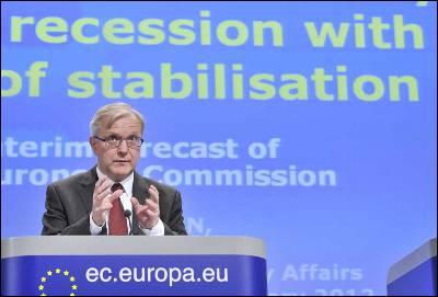 Olli Rehn el pasado 23 de febrero.