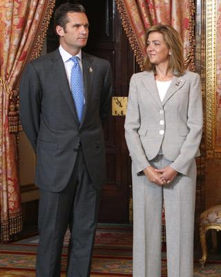 La infanta Cristina e Iñaki Urdangarin.