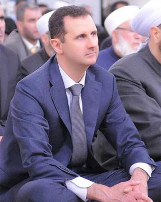 El presidente sirio Bachar al Asad. -