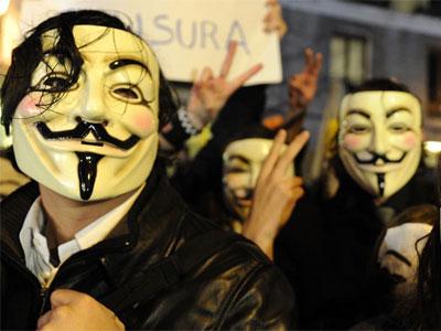 Protesta durante la pasada gala de los Goya - AFP