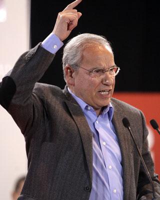 El socialista Alfonso Guerra, la semana pasada. EFE/J.L.Cereijido.
