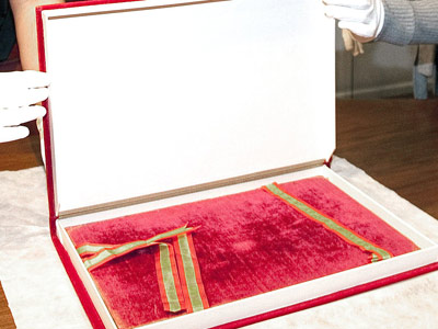 Imagen del original de la Constitución de 1812.