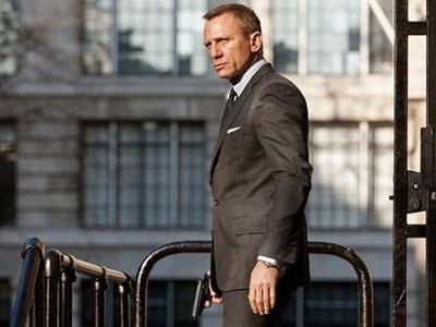 Daniel Craig interpreta a James Bond en la última entrega de este agente: 'Skyfall'.