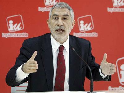 El diputado nacional de IU por Asturias, Gaspar Llamazares, en una foto de archivo. - EFE