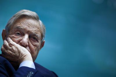 El multimillonario de origen húngaro George Soros. AFP