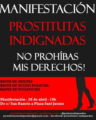 prostitutas em madrid prostitutas indignadas