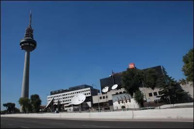 Una imagen de Torrespaña, sede de los servicios informativos de Televisión Española.