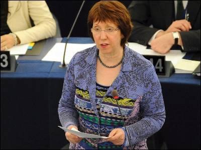 La alta representante de política exterior, Catherine Ashton. EFE/Archivo