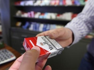 Cajetillas de tabaco.