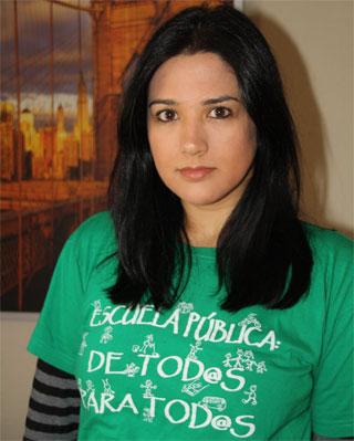 Cruz Díez, profesora de Inglés de Secundaria.-Antonia López Cabrera