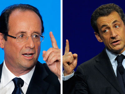 Hollande y Sarkozy. AGENCIAS