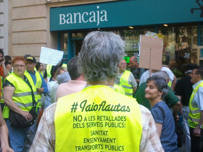 Occupation in Barcelona.