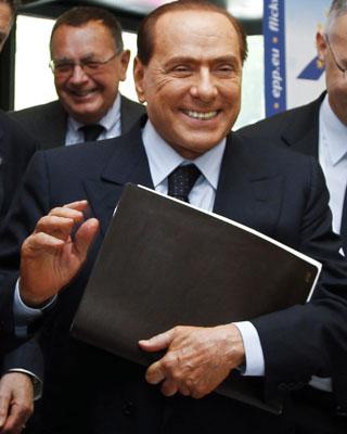 El ex primer ministro italiano Silvio Berlusconi. EFE