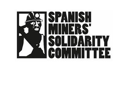 Logo del comité de ayuda a los mineros españoles.