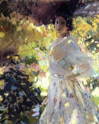 'María vestida de labradora valenciana', de Joaquín Sorolla.