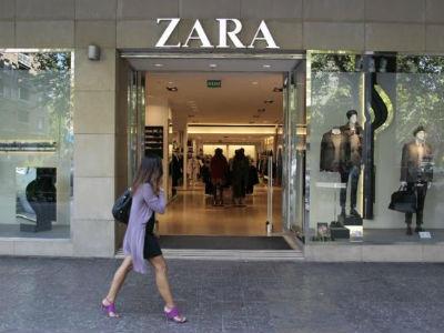 Un establecimiento de 'Zara', principal empresa del grupo Inditex. Archivo (EFE)