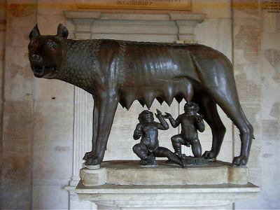 La 'loba capitolina' es de la Edad Media y no etrusca 1340465516743lobadn